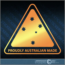 PROUDLY AUSTRALIAN MADE Highest Quality Silver Car Sticker Decal Southern Cross