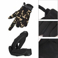 Men's Military Tactical Gloves Full Finger Shooting Hunting Motorcycle Gloves L