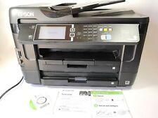 Epson WorkForce WF-7620 Wide Format Wireless Inkjet Printer Model C441C