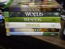 (6) Weeds Season DVD Lot: Seasons 1, 2, 3, 4, 5 & 6    w/Slipcovers