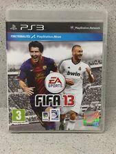 JEUX PS3 FIFA 13 AVEC  NOTICE PLAYSTATION