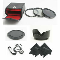 49mm UV/CPL/ND8 Filter Kit Bundle for Sony Alpha E-Mount 50mm f/1.8 OSS Lens