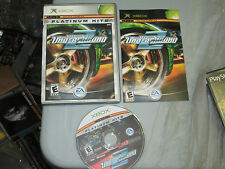 Need for Speed: Underground 2 (Microsoft Xbox, 2004) complete