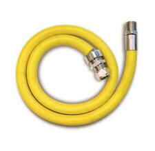 "HOB MATE GAS CONNECTING HOSE 1m x 1/2"" BSPT MALE"