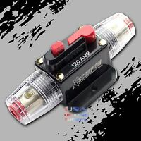 2pc High Quality Platinum 100A AMP Car Audio Marine Grade ANL Fuse LED Indicator