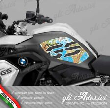 2 Adesivi BMW R 1200 GS LC 2017 RALLYE EXCLUSIVE cover Map color