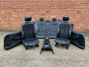 BMW 3 SERIES F30 LEATHER M SPORT HEATED AIR BLOW COMPLETE SEATS SET