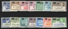 More details for british antarctic terr. sg24/37 1971 decimal currency surcharges mnh