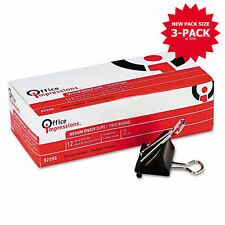 Office Impressions Medium Binder Clips 36ct OFF 82096 PK