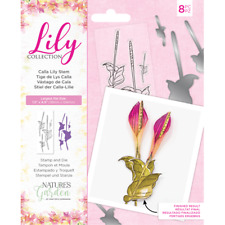 Nature's Garden Lily Craft Collection - Stamp and Die - Calla Lily Stem