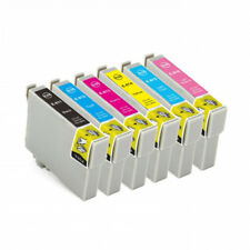12 INK for EPSON 82N 81N T0811 CARTRIDGE R290 RX590 RX690 TX700W TX800FW PRINTER