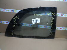 96 97 98 99 00 Dodge Caravan PASSENGER Side Quarter glass Window rear #3619-V