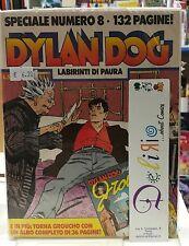 SPECIALE DYLAN DOG N.8 LABIRINTI DI PAURA Ed. BONELLI SCONTO 15%