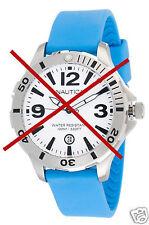 Cinturino Nautica CIN A15577G in silicone blu ricambio orologio orginale 20MM