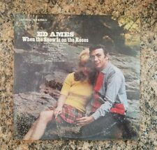 ED AMES WHEN THE SNOW IS ON THE ROSES. RCA VICTOR LSP-3913. SHRINK SEALED. 1967.