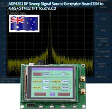 ADF4531 RF Sweep Signal Source Generator Board 35M-4.4G+ STM32 TFT Touch LCD New