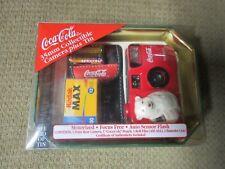 1999 Coca Cola 35mm Collectible Camera plus Tin Rare New Coke Year Kodak Film