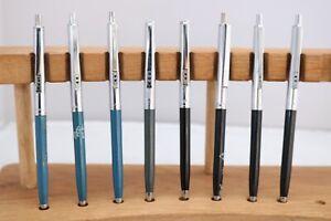 Vintage (c1970) Paper Mate Profile Ballpoint & Pencils, 13 Finishes, UK Seller