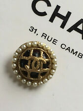 Rare CHANEL 14mm CC button