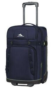 "High Sierra Evanston 25"" Upright Suitcase Luggage Maritime Blue 89683-6540"