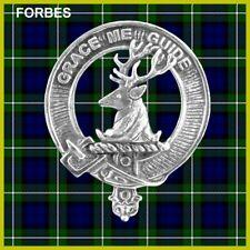 Forbes Scottish Clan Badge, Pewter