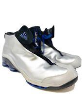 Nike Shox VC 1 Vince Carter 302277-001 2002 Silver/Black/Blue OG Men's SZ 18 US