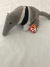 "Ty Beanie Babies : ""Ants"" Anteater Beanie Baby Mint - 1997 - Retired Rare"