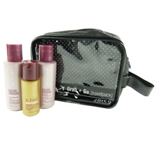 JOICO Travel Care Set - Colored Hair Styling Oil Shampoo Conditioner - 4pc