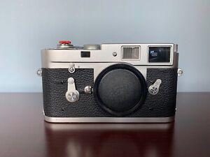 Leica M2 Rangefinder 35mm Film Camera Body Chrome - price reduced!!