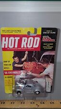 1/64 RACING CHAMPIONS HOT ROD MAGAZINE 1941 WILLYS COUPE SILVER B78/4