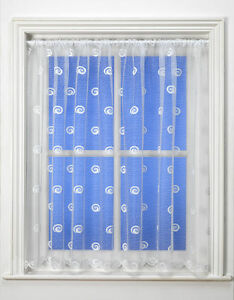 Best Selling Buxton Swirl White Net Curtains Premium Quality & Value