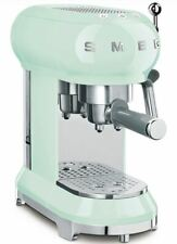 SMEG ECF01PGEU Siebträger Espresso-Kaffeemaschine 50's Retro Style Pastellgrün