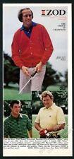 1978 Jerry Pate Ray Floyd Hubert Green photo Lacoste Izod alligator shirt ad