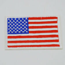 National flag emblem embroidered patch iron on applique of embroidery DIY Motif