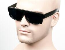 Large Super Dark Cholo Gangster Sunglasses LOC Lowrider OG Style Vintage NLSD