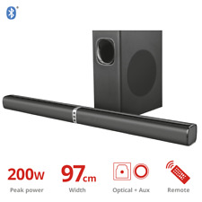 Trust Lino XL 2.1 Soundbar con Subwoofer e Bluetooth TV ottica aux e USB 3D