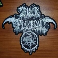 BLACK FUNERAL HELL OF SATHARIEL-BINAH BACK PATCH SHAPED
