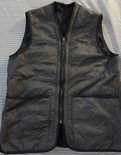 Barbour Men's US M Polarquilt Waistcoat/Zip-In Liner Navy