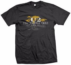 U2 The Joshua Tree Tour 2017 T-Shirt S M L XL 2XL 3XL