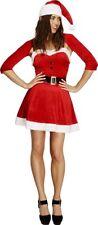 Smiffys - Costume da Babbo Natale Donna Taglia L