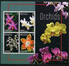 MICRONESIA 2015 ORCHIDS  SHEET MINT NH