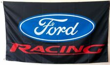 Auto Advertising Ford RACING FLAG BANNER 3X5 ft man cave garage car race dad