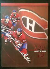 2009-10 Montreal Canadiens 100th Anniversary Season Ticket Book NHL Hockey