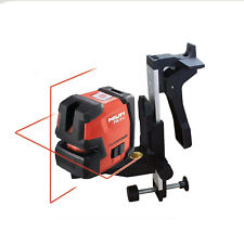 Hilti laser level PM 2-L Line laser contains L-shaped magnetic