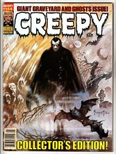 CREEPY #144 JAN 1983 VF+ 8.5 WARREN - CLASSIC FRAZETTA COVER RARE LATE RUN ISSUE