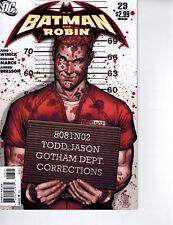 Batman and Robin 1:10 #23 JG Jones Variant DC Winnick 2009