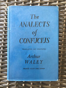 The Analects of Confucius by Arthur Waley (1964/5th impression, hardcover)