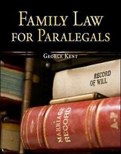 Family Law for Paralegals, George Kent, Good Book