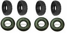 (4) 4.10 3.50  6 Tires & (4) TUBES  GO KART MINI BIKE TIRES MOWER FAST SHiP