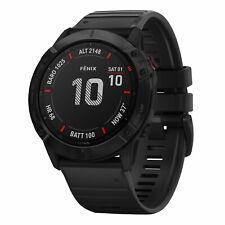 Garmin Fenix 6X Pro Smartwatch Sportuhr Fitness GPS-Multisport Robust Schwarz
